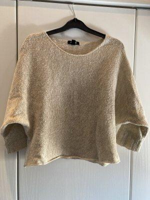 Jennyfer Maglione lavorato a maglia beige