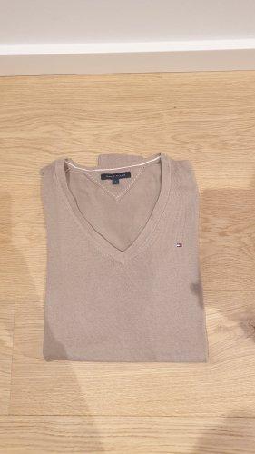 Beiger Pullover von Tommy Hilfiger in S