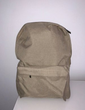 School Backpack beige