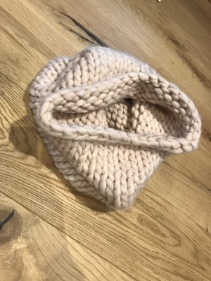 H&M Tube Scarf cream-beige
