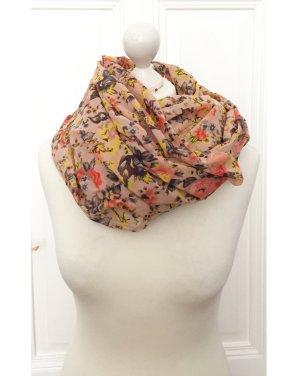 H&M Bufanda tubo multicolor tejido mezclado