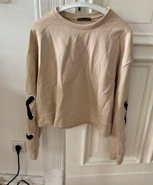 Beiger weiter Sweater vom Zara