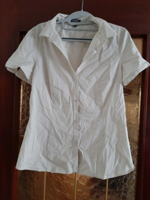 Montego Chemise à manches courtes blanc-beige clair