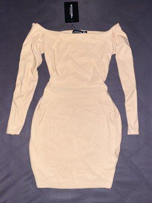 Beiges Kleid 40