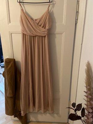Mohito Evening Dress rose-gold-coloured-cream