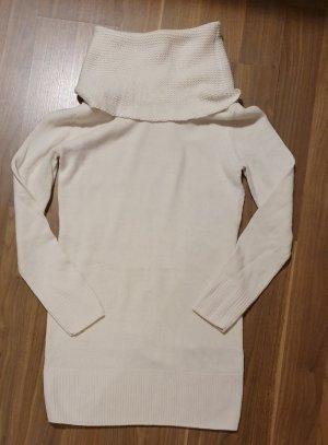 H&M Vestito di lana beige chiaro-beige