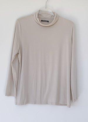 beiges langarm Shirt mit Rollkragen, Betty Barklay, Gr. 48