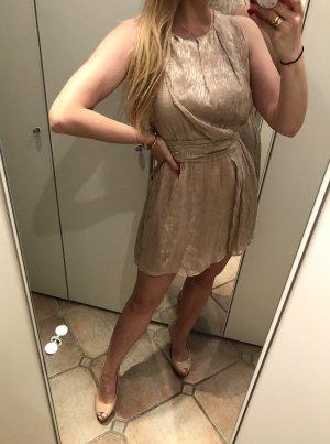Ikks Mini vestido multicolor Seda