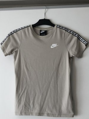 Beiges Nike T-Shirt