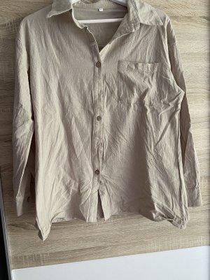 Beiges Oversize Hemd Shein