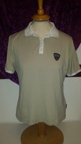 beiges Polo-Shirt von Vittorio Rossi Sport, Gr. 40