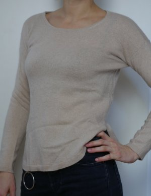beiges Sweatshirt von Susara in Gr. 34 / XS