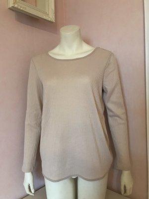 H&M Blusa sin espalda nude