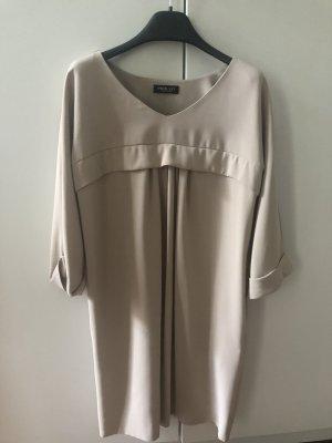 Beiges Twin Set Kleid