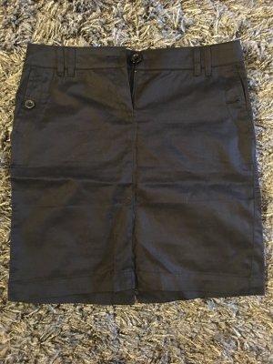 Mango Basics Pencil Skirt dark blue