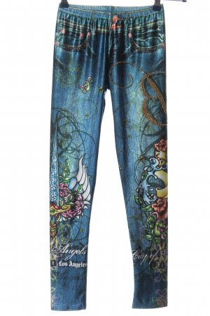 Bejeweled Jeggings themed print glittery