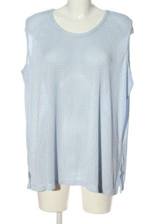 BEKA MODEN Bluzka bez rękawów niebieski W stylu casual