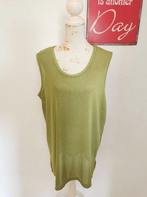 Beka Moden Damen Strickpullunder Bändchengarn grün Größe 48