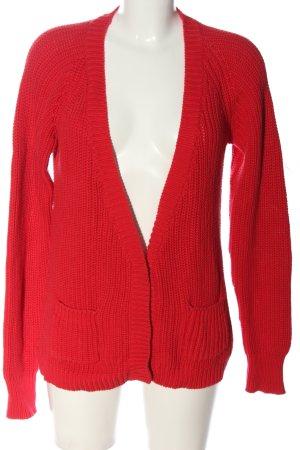 Bel Air Kardigan czerwony W stylu casual