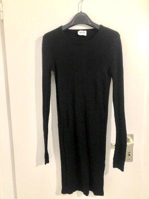 Bel Air Robe en maille tricotées noir