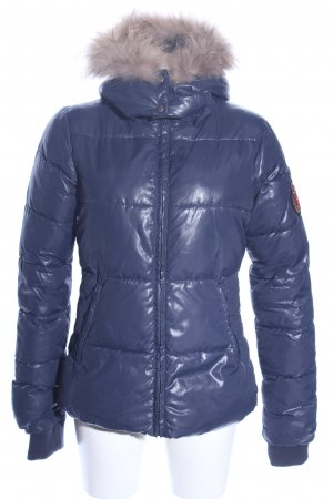 Bel Air Winterjacke blau Casual-Look