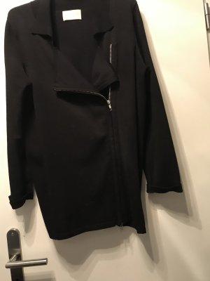 Veste en tricot noir viscose