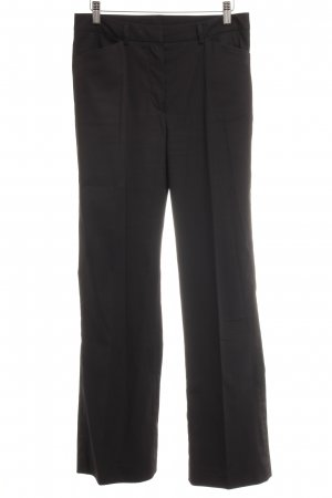 BELFE & BELFE Bundfaltenhose schwarz Business-Look