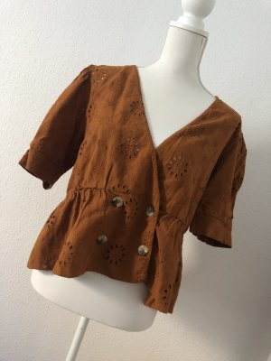 Beliebtes Zara Blogger Oberteil Shirt Größe L