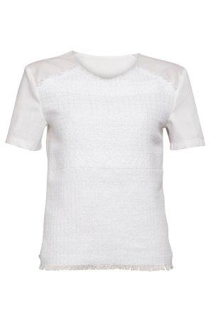 Belier Shirt weiß Beach-Look
