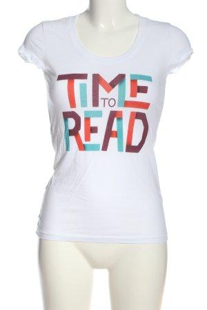 Bella+Canvas Print Shirt printed lettering casual look
