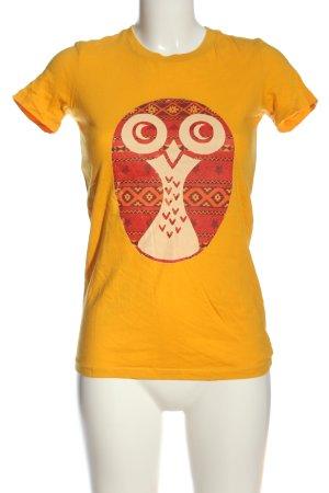 Bella+Canvas Print Shirt themed print casual look