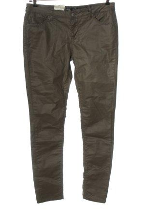 Bella Ragazza Low-Rise Trousers khaki casual look