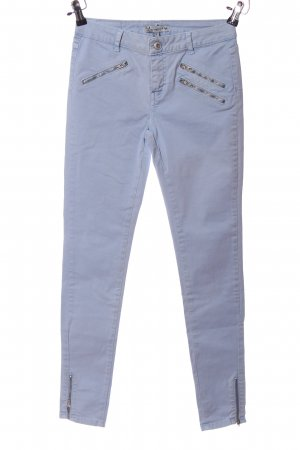 Bella Ragazza Pantalon fuselé bleu style décontracté