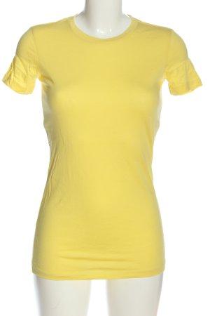 BELLA T-shirt jaune primevère style décontracté