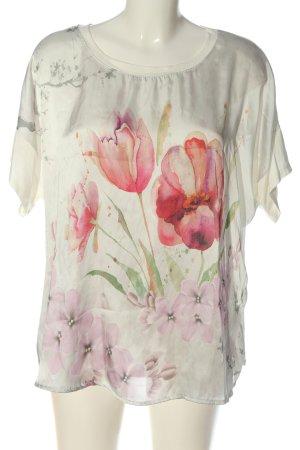 Bellambia T-shirt Wzór w kwiaty W stylu casual