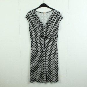bellanatur Shortsleeve Dress black-white viscose