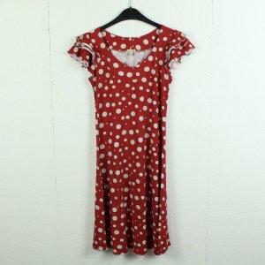 bellanatur Shortsleeve Dress white-dark red
