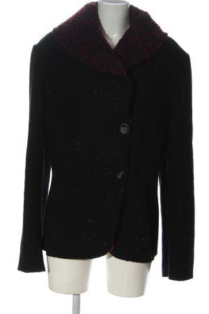 bellanatur Płaszcz przejściowy czarny Melanżowy W stylu casual