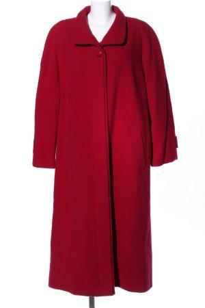 Bellandi Cappotto in lana rosso stile professionale