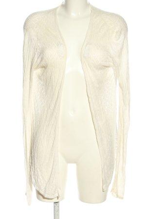 Belldini Cárdigan de ganchillo blanco look casual