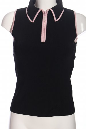 Belldini Polo Top black-pink casual look