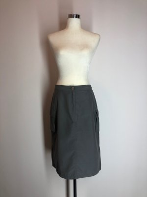 Cargo Skirt dark grey polyester