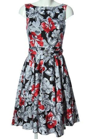 Belle Poque Sukienka midi Na całej powierzchni Elegancki