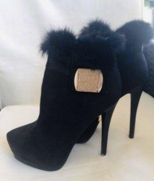 Belle Sexy Damen High Heels Stiefeletten Boots Neu 40