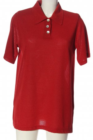 Belle Surprise Polo Shirt red casual look