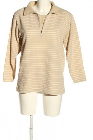Belle Surprise Sailor Sweater cream-white striped pattern casual look