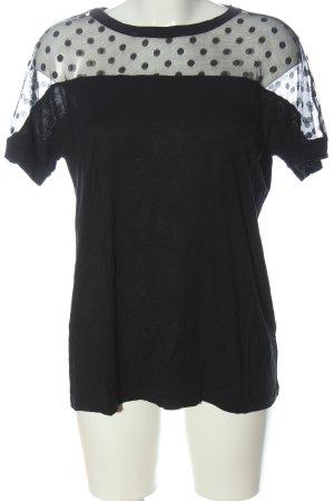 Belle Vere Boatneck Shirt black casual look
