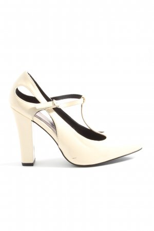 Belle Women High Heels creme Business-Look