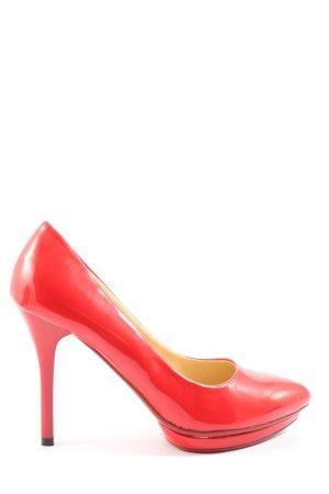 Belle Women Wysokie obcasy czerwony W stylu biznesowym