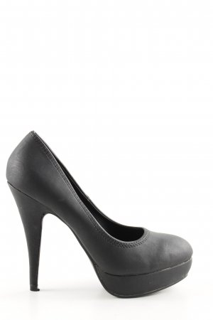 Belle Women Plateau-Pumps schwarz Business-Look